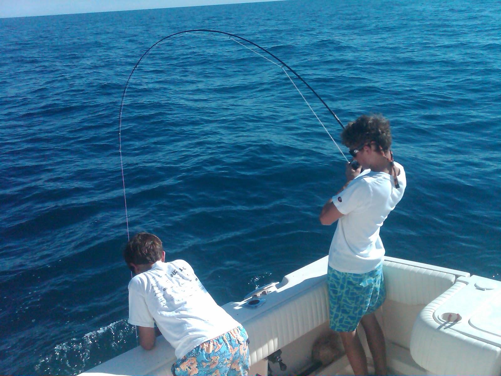 Benny Fishing In Naples Delamere Amp Hopkins