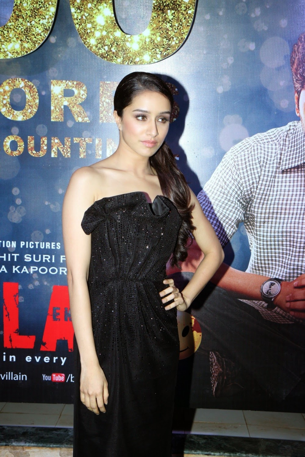 Shraddha Kapoor sizzles in this romantic red dress from