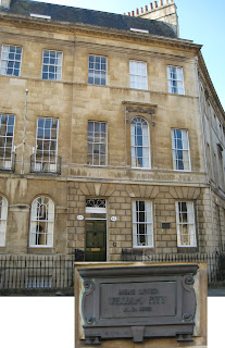 Pitt's house in Bath in 1802