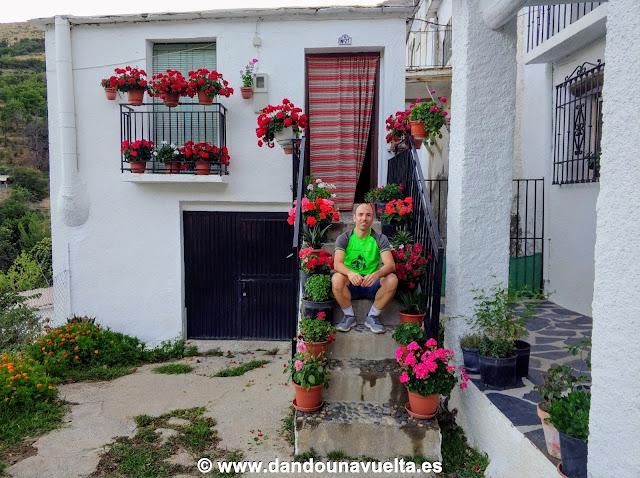 En las calles de Trevélez, Alpujarra, Granada