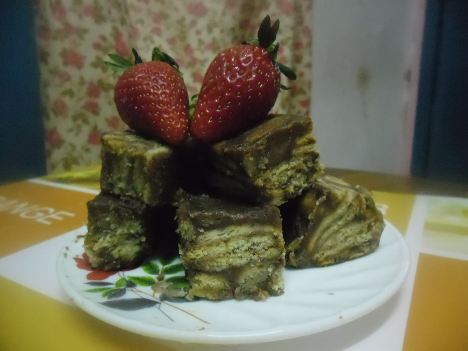 Zalekha Luvs Cooking: Kek Batik Milo..