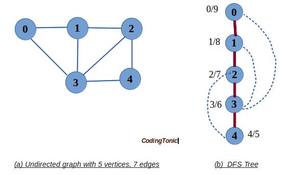 CodingTonic: Depth First Search (DFS) - Graphs