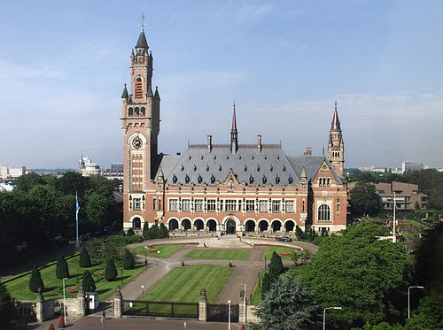 オランダ・ハーグの仲裁裁判所 :...