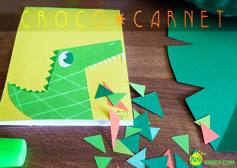 paper,  DIY, carnet-croco, camille epplin