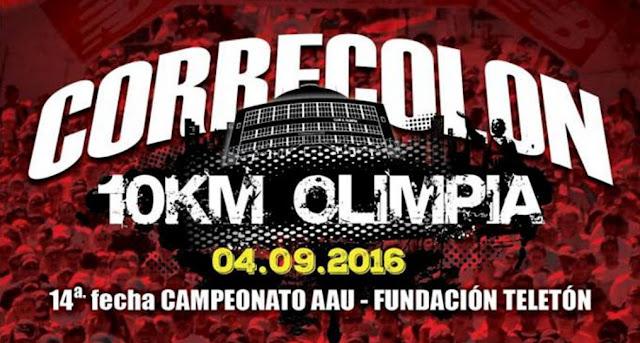 10k Corre Colón (AAU, Club Olimpia, 04/sep/2016)