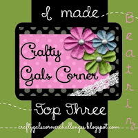Top 3 Crafty Gals Corner challenge nº89
