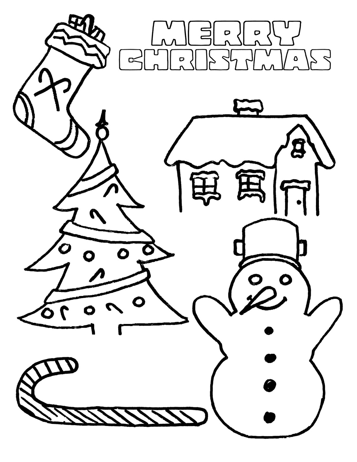 holiday coloring book pages - photo#48