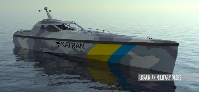 Швидкісний патрульний катер «Катран U53»
