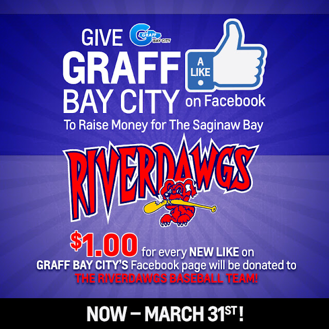 Like Graff Bay City to Support the Saginaw Bay Riverdawgs