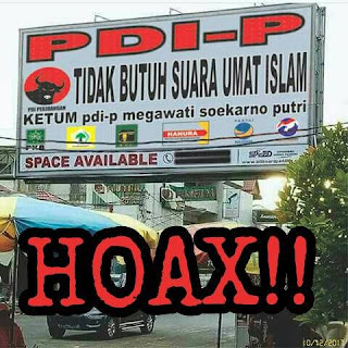 Penyebar Hoax PDIP ditangkap Polisi