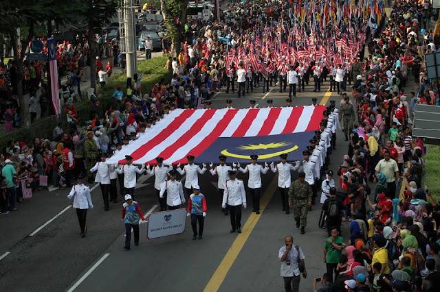 Suasana Sambutan Kemerdekaan ke 59