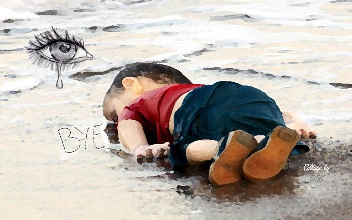 Artists Around The World Respond To Tragic Death Of 3-Year-Old Syrian Refugee - Good Bye