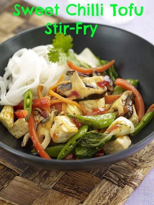 Sweet Chilli Tofu Stir-Fry: Dinner Recipe Ideas