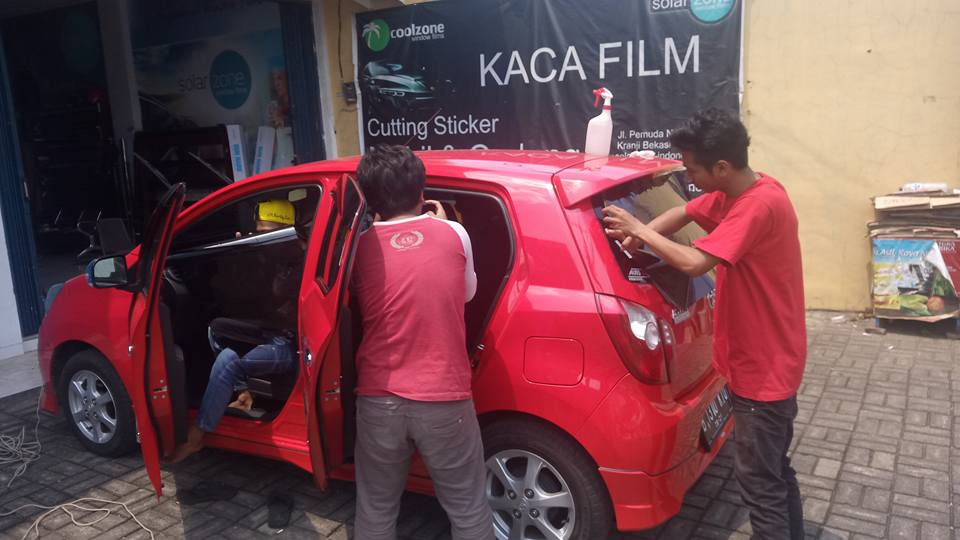 jasa pasang kaca film 3M™ untuk mobil Daihatsu Xenia