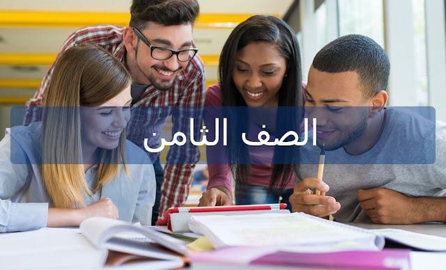حل درس التشبيه المرسل التشبيه المؤكد في اللغه العربيه الفصل الاول للصف الثامن
