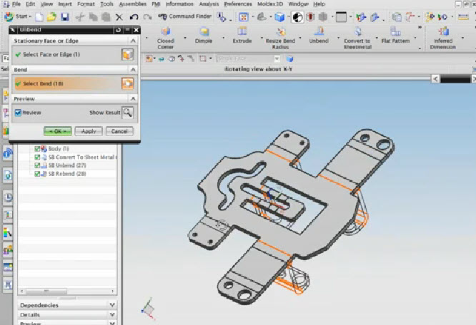 Nx Cad Knowledge About How To Use Sheet Metal Design