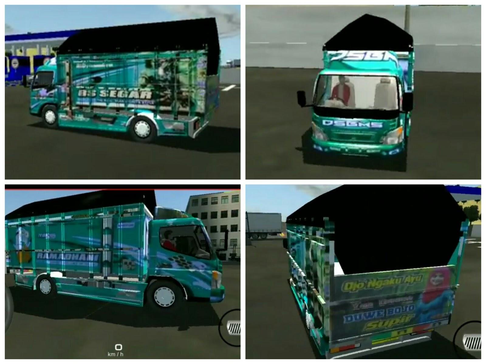 Livery Idbs Truck Canter Minion Idbs Truck Simulator Gudang Livery Skin Dan Mod Bus Simulator Indonesia