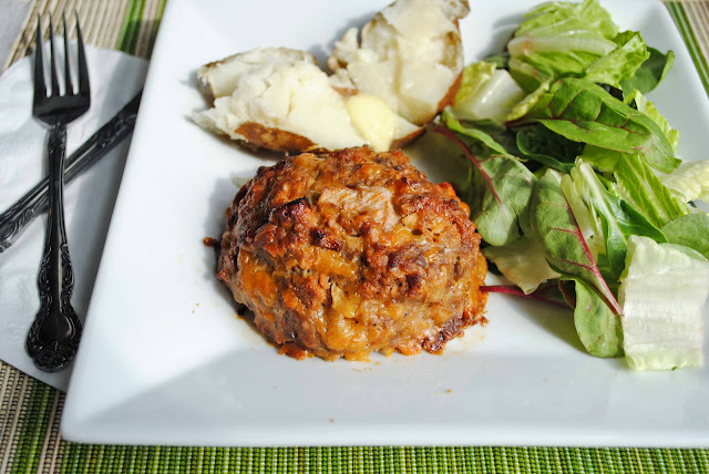 Cheesy Mini Meatloaf - NeighborFoodBlog.com