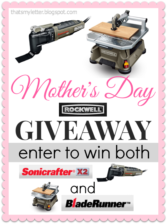 Rockwell Tools Mother's Day giveaway