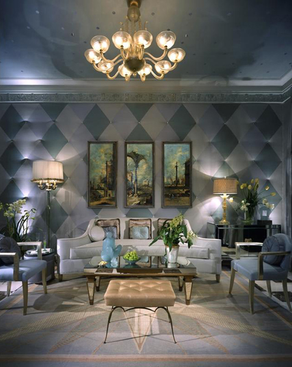 Eye For Design Decorating With Checkerboard and Harlequin Patterns