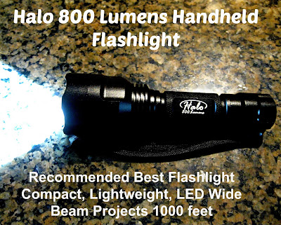 Halo 800 Lumen Handheld Flashlight Review