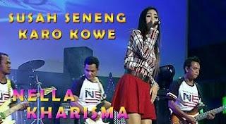 Lirik Lagu Nella Kharisma - Susah Seneng Karo Kowe