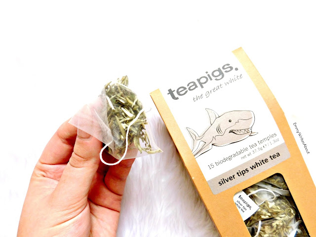 Teapigs silver tip white tea review