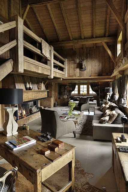 First House On The Right Ski Chalet Chic