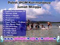 Harga Paket Wisata 3H2M Karimunjawa Jumat-Minggu