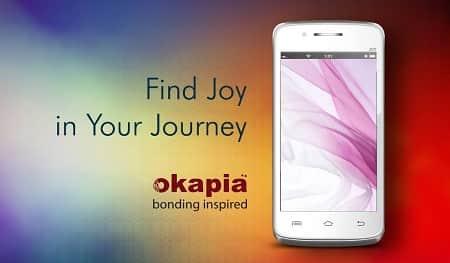 Okapia Joy Next Smartphone
