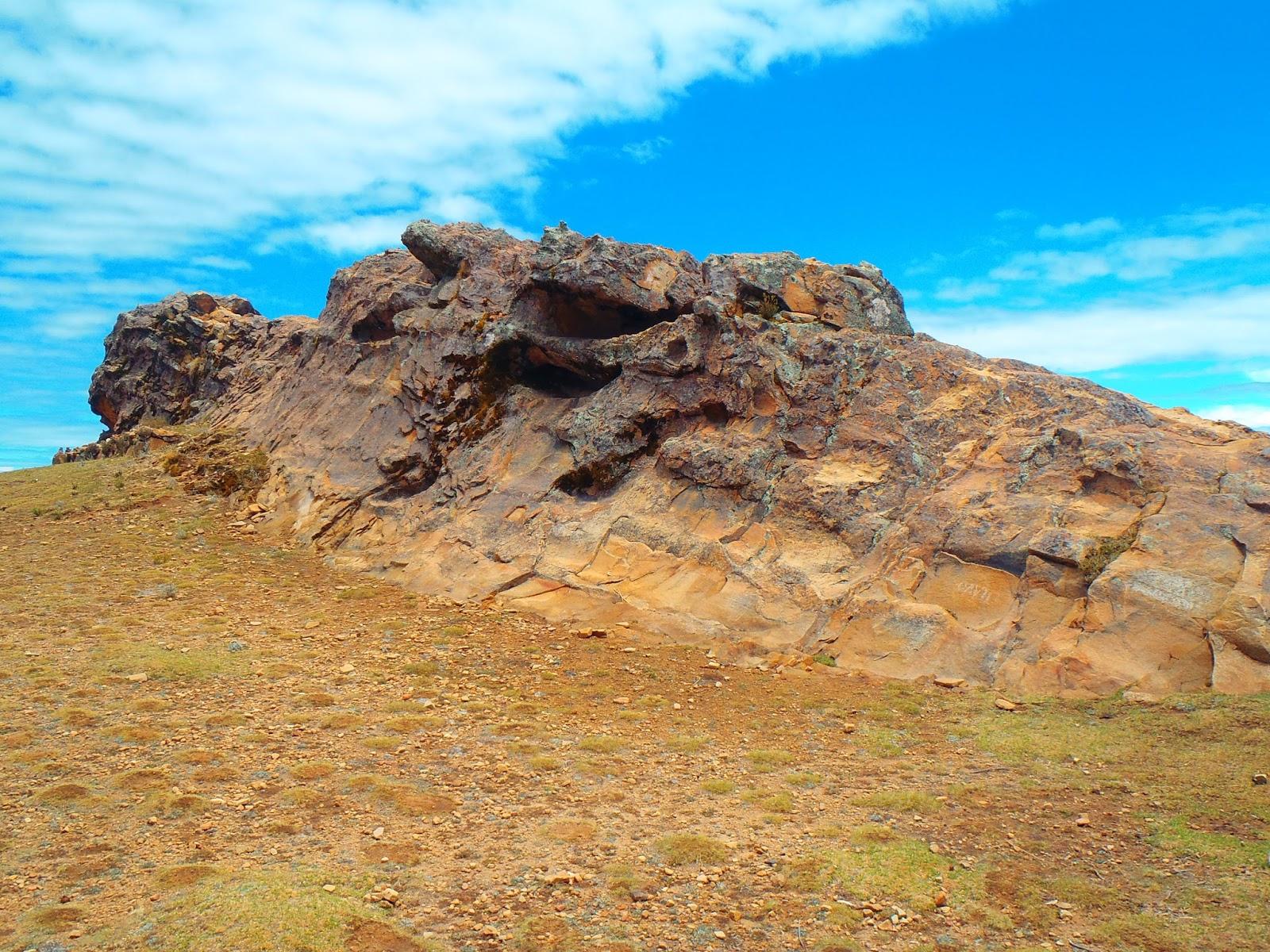 Isla del Sol Puma Rock