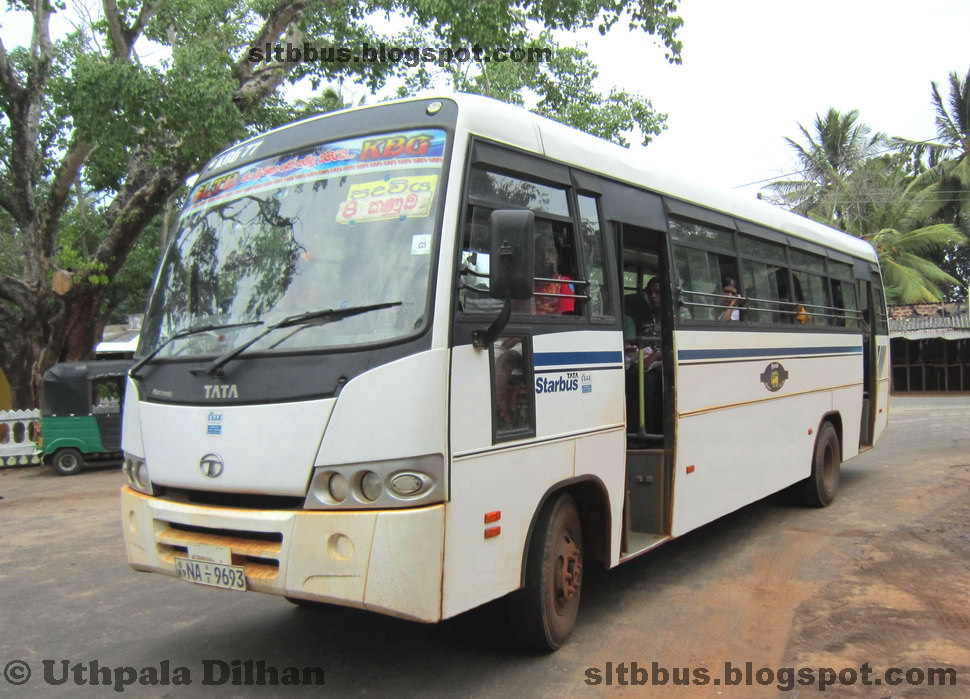 SLTB buses - ශ්රී ලංගම බස්: TATA LP 909/49 Star bus from ...