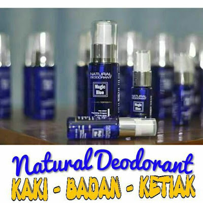 NATURAL DEODORANT MAGIC BLUE