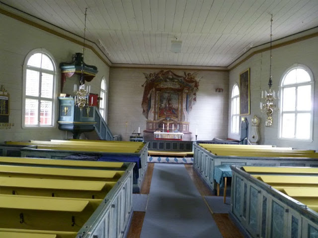 Good Church Design Painting The Pews