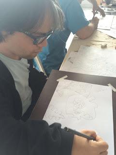 Downidos-desenhando