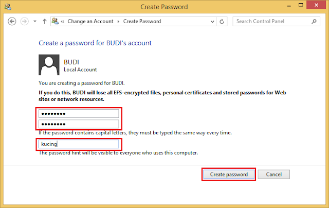 Cara Memberi Password pada Laptop atau Komputer