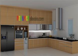 Kitchen Set Berbentuk Huruf L