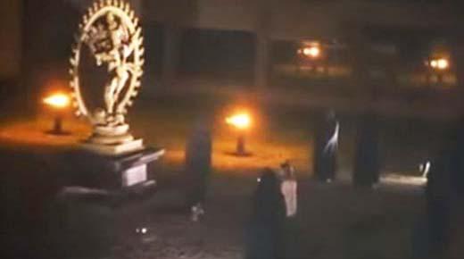 Ritual de sacrificio humano grabado en video en el CERN