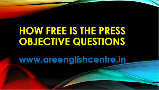 How free is The Press Objective Questions