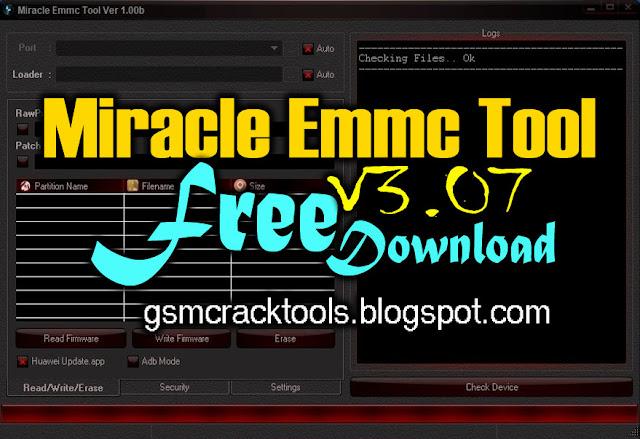 Miracle eMMC Tool V3.07