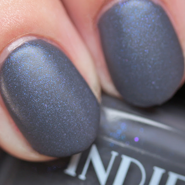 Indie Lacquer It's Going to Be a Grey Day