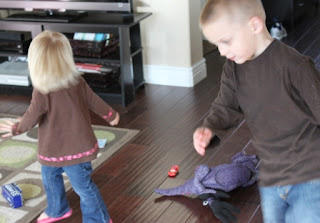 kids dancing exercise
