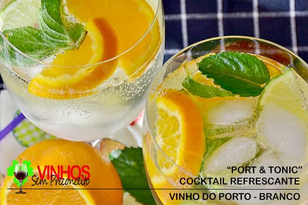 "Cocktail ""Port & Tonic"""