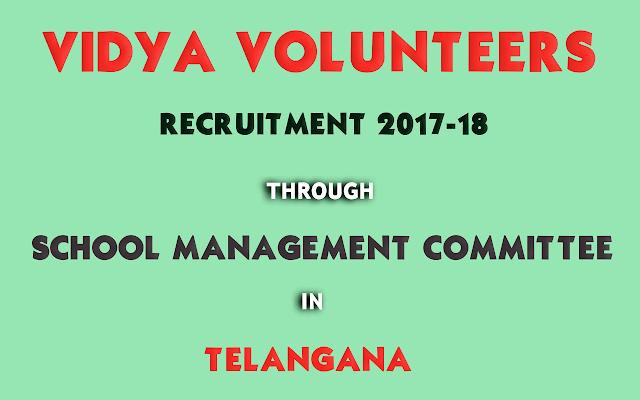 Vidya-Volunteers-Recruitment-in-School-Education-Telangana-2017-2018