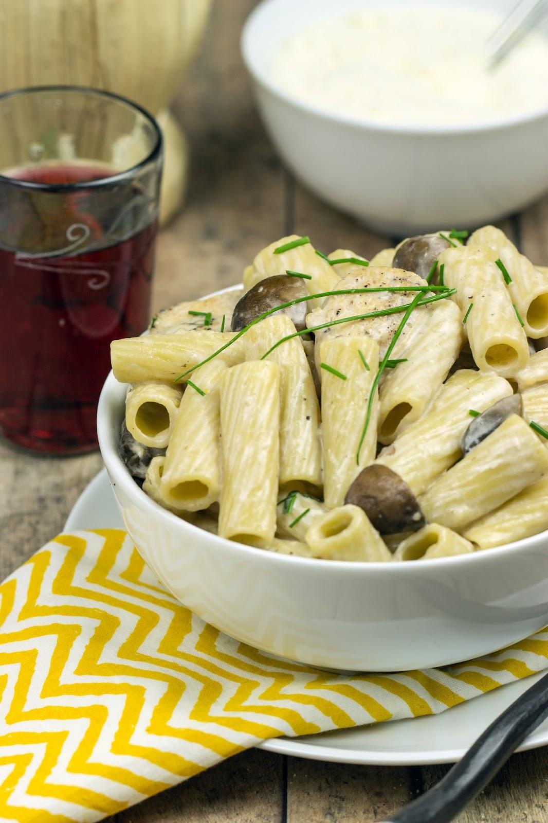 Chicken Marsala Pasta | Cooking on the Front Burner #italian #marsalachicken