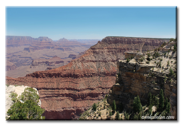 Picturesque view of the Grand Canyon