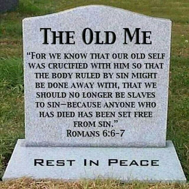 Daily Death Quotes: Spread The Word By KJ: Romans 6: Dead To Sin, Alive To God