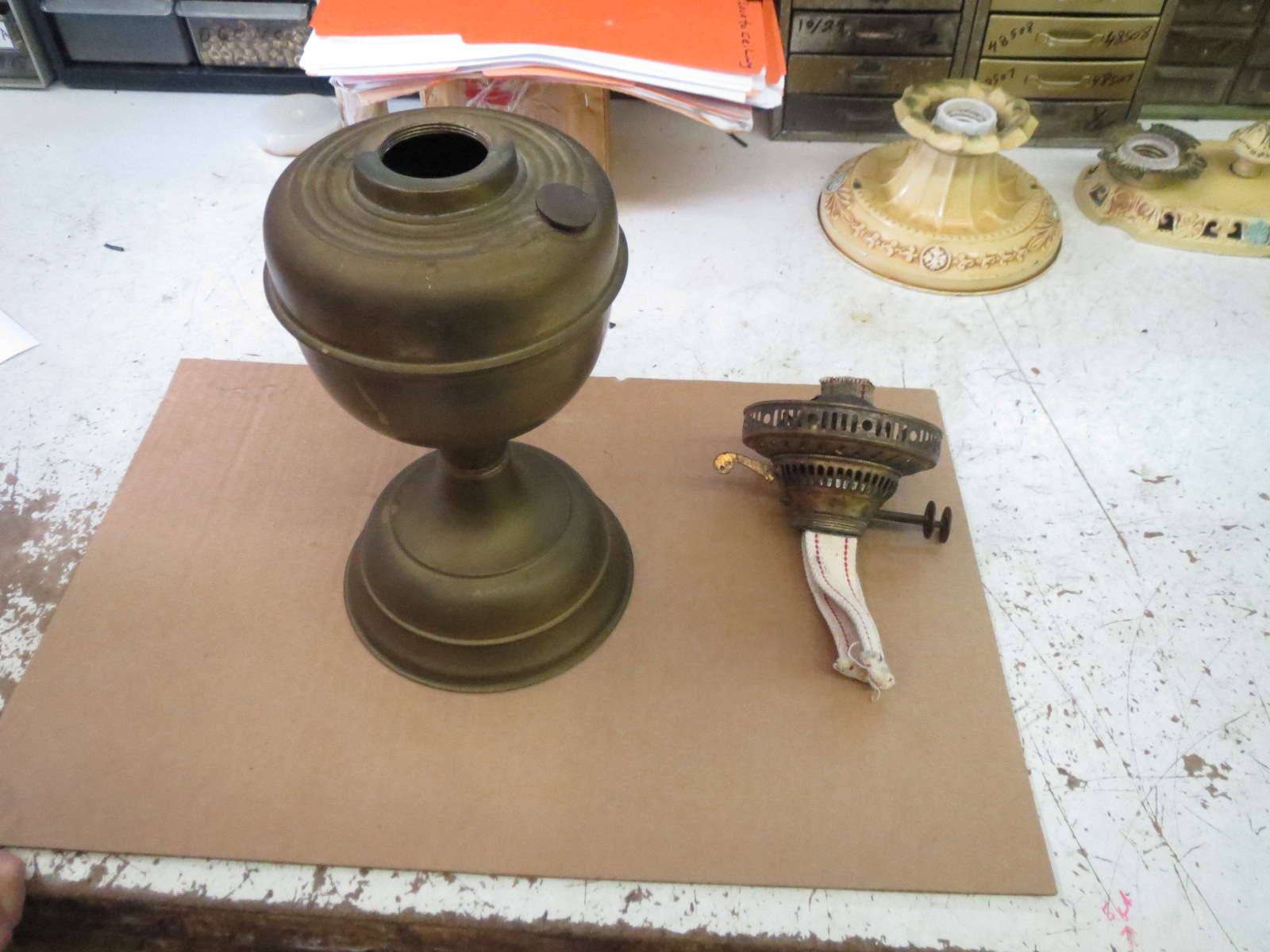Lamp Parts and Repair | Lamp Doctor: Converting an Old ...