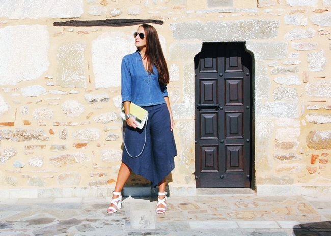 how to wear culottes trend