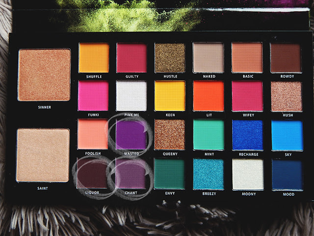 Bperfect cosmetics x stacey marie carnival palette